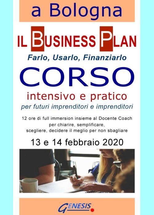 CORSO BUSINESS PLAN BOLOGNA  13-14 febbraio 2020 – Ancora aperte le iscrizioni!